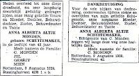 Schuitemaker, Anna Alberta Altje Overlijdensadvertentie 03-08-1939.jpg