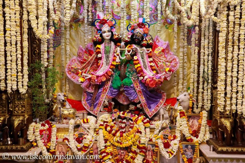 ISKCON Vrindavan Sringar Deity Darshan 29 Feb 2016 (20)