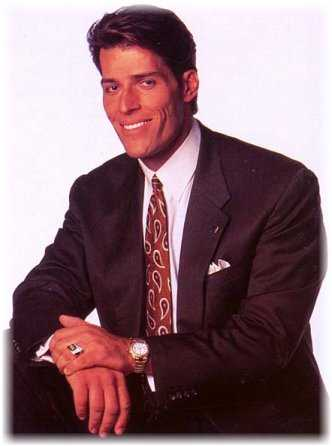 Tony Robbins Portrait, Anthony Robbins
