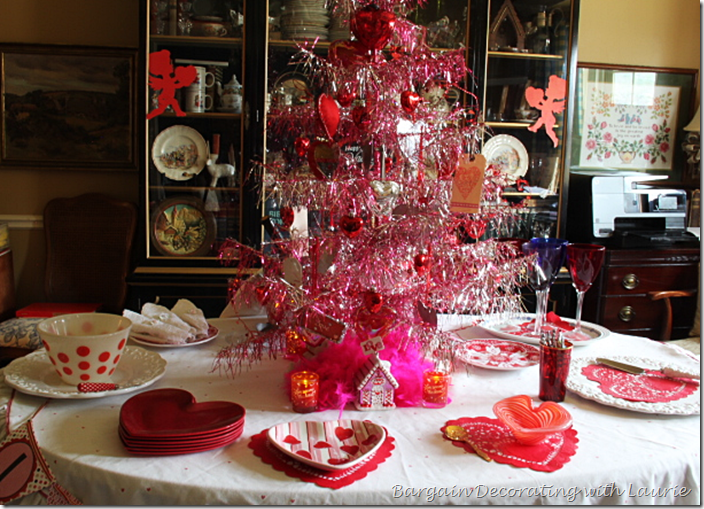 Valentine Tree for Table Centerpiece