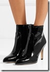 Sam Edelman Patent Leather Ankle Boots