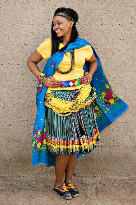 Tsonga Shangaan traditional wear 2018
