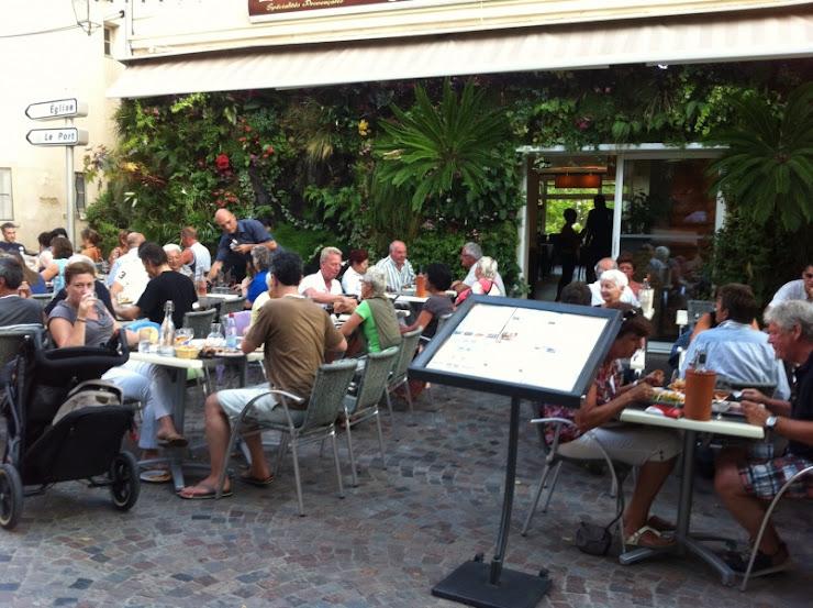 Restaurant Le Krill lavandou 2011