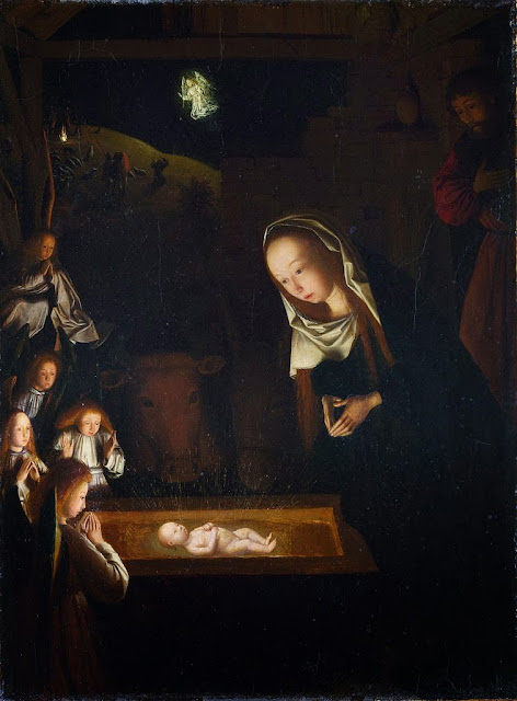 Geertgen tot Sint Jans - Birth of Jesus
