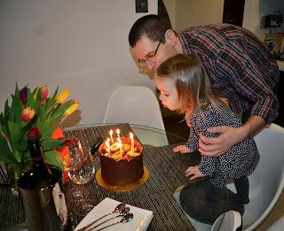 Natalia - Urodziny taty