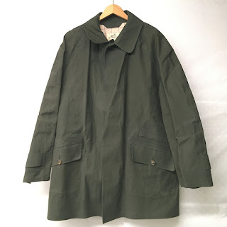 Hermès Olive Green Rain Coat