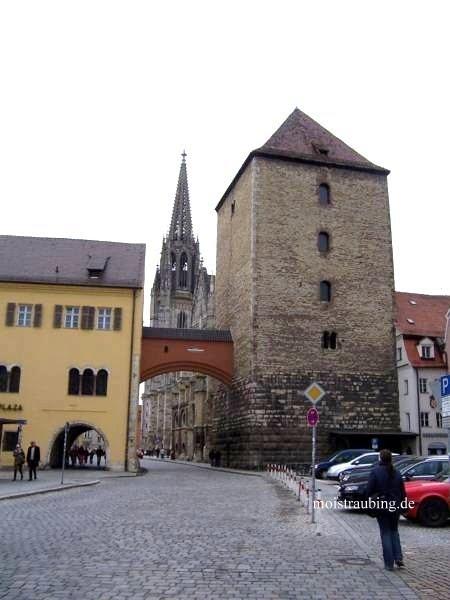 Регенсбург. Языческая (Римская) башня