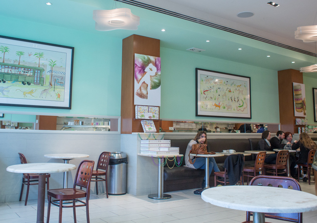 photo of the inside of Sucré