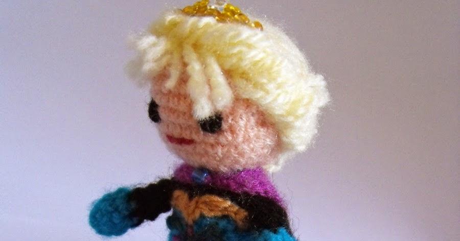 Amigurumi Patron De Elsa : Solgurumis: Patron amigurumi de Elsa transformable