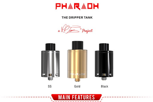 digiflavor golden pharaoh dripper tank page title thumb%25255B3%25255D - 【GIVEAWAY】春のプレゼント「Eleaf Pico Dualキット」「Pharaoh RDA」「Eleaf iCare」当たる!【CACUQECIG】