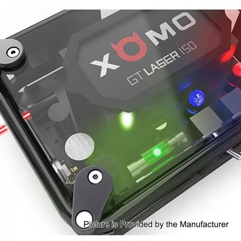 authentic xomo gt laser 150w 3500mah box mod black 0105 ohm%2B%25281%2529 thumb%255B2%255D - 【海外】「XOMO GT Laser 150W 3500mAh」「Nitecore i8 Intellicharger」「Joyetech eVic Primo SE 80W」「Iwodevape 510 Vapeスピナー」など