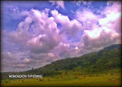 Pemandangan di Desa Cipancar