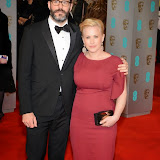 OIC - ENTSIMAGES.COM - Eric White and Patricia Arquette at the EE British Academy Film Awards (BAFTAS) in London 8th February 2015 Photo Mobis Photos/OIC 0203 174 1069