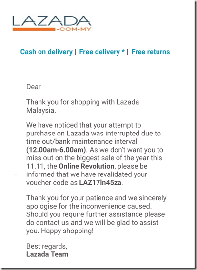 Lazada Single Day Sale