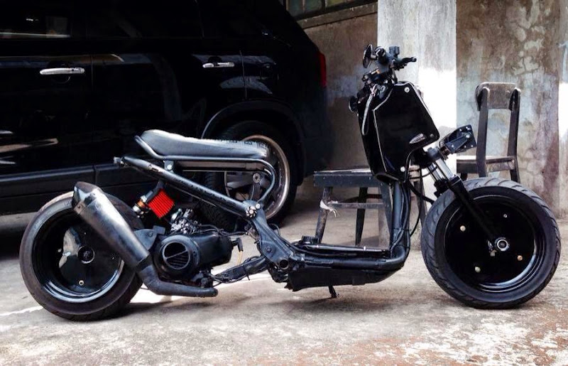 Scooters - Making a Ruckus out of a Sym Jet Custom Pinoy Rides Manila Philippines pic3