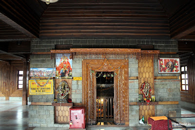 Inside Manu Temple, Old Manali