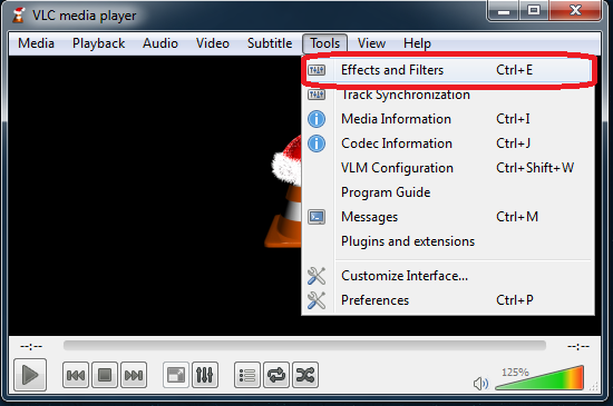 VLC Video Effects