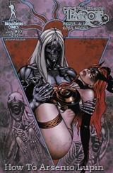 Actualización 16/02/2019: ¡Sus manos donde pueda verlas o les lanzo un hechizo! Se agregan los numeros 91, 92 y 93 al post de Tarot - La Bruja de La Rosa Negra. La mansión de las brujas ha sido invadida por el Elfo Oscuro Azure. La magia combinada de Raven Hex y Tarot no es rival para sus hechizos. ¡La venganza de Azure está a la mano! Se encuentra listo para lanzar su golpe fatal para acabar con la línea de sangre de las Brujas de la Rosa Negra. ¡Y las cosas están por empeorar!