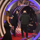 OIC - ENTSIMAGES.COM - Megan McKenna and Emma Willis Celebrity Big Brother 4th eviction from the Big Brother house . Elstree London 22nd January 2016 Photo Mobis Photos/OIC 0203 174 1069