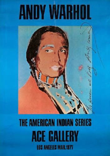 Andy Warhol American Indian Series