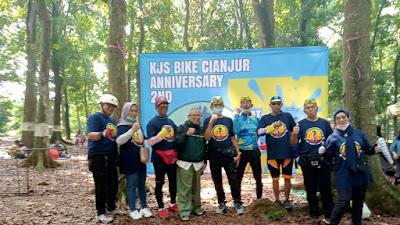 Rayakan Anniversary Ke 2nd, KJS Gowes Berharap Pemerintah Bisa Perbaiki Setiap Jalan yang Rusak