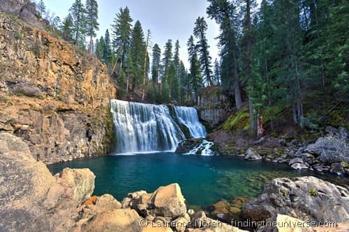 Middle Falls McCloud Shasta Cascade
