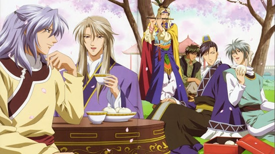 Saiunkoku Monogatari (personaggi maschili)