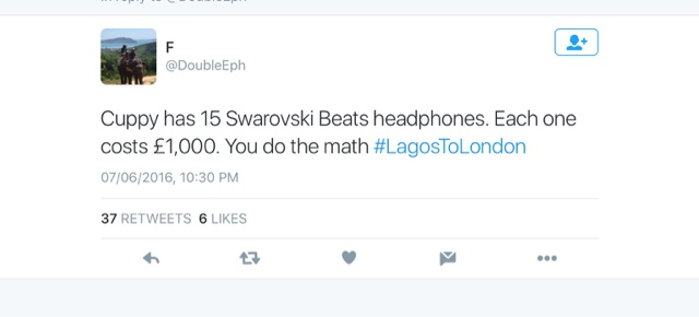 Nigerians React To #LagostoLondon Documentary Detailing The Life Of Nigerian Billionaires 2
