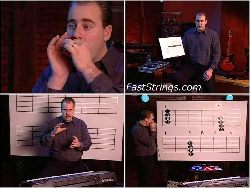 David Barrett - Building Harmonica Technique Vol. 1-4
