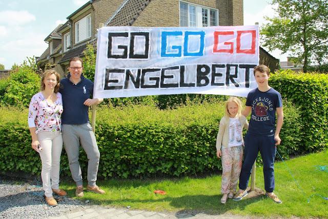 spandoek voor Engelbert Van Keirsbulck