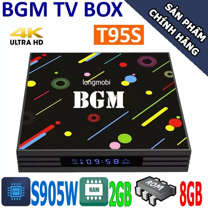 bgm tv box ram 2gb gia re