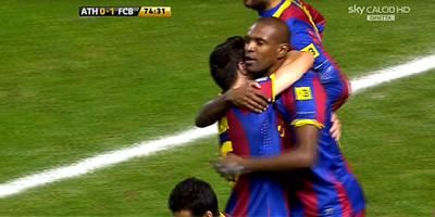 Copa Del Rey : Athletic Bilbao 1 vs 1 Barcelona 05-01-2011