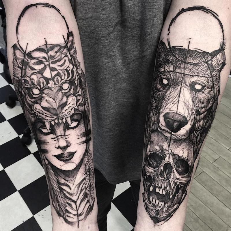esses_brilhantes_manga_esboço_de_estilo_tatuagens