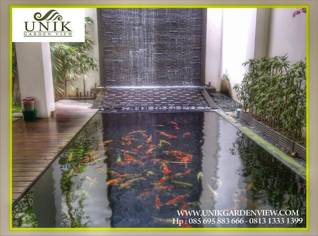 Tukang Kolam Jakarta | Jasa Pembuatan Kolam Ikan Minimalis | Air Terjun | Watter Wall