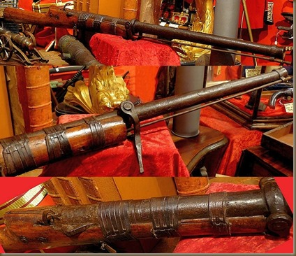 Mughal-made Jingal swivel guns, to be mounted on camel- or elephant-back