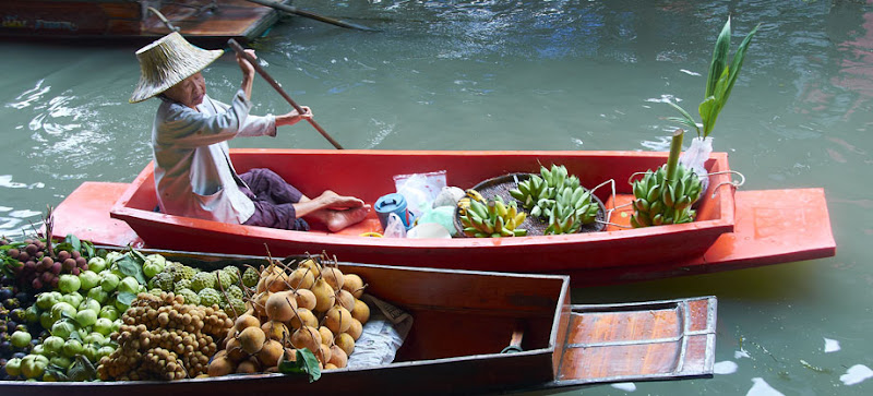 Damnoen Saduak Floating Market - 4. Ratchaburi Province