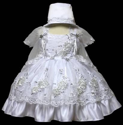 Angel baby girl Christening Baptism Dress Gowns outfit /XS/S/M/L/XL/0-3M/3-6M/6-12M/12-18M/18-24M/XSMALL/SMALL/MEDIUM/LARGE/XL/#601 at Sears.com