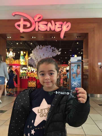 chave disney no Florida Mall