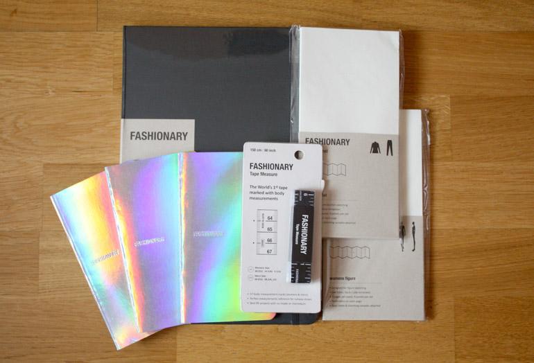 fashionary womenswear sketchbook