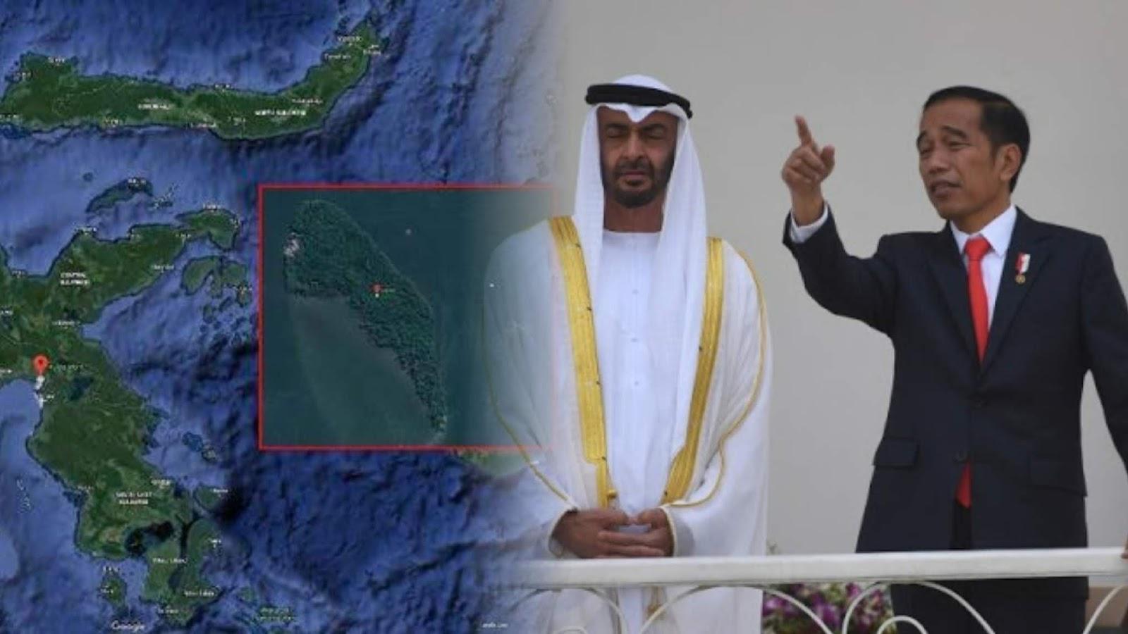 Pemerintah Indonesia Menawarkan Pulau di Sulawesi Tengah ke Putra Mahkota Uni Emirat Arab
