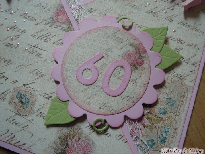 161 - Carte Anniversaire 60 ansmodifierSupprimer la légende
