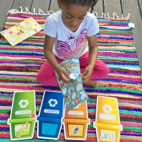 earth day recycle game homeschool top mom mommy blogger