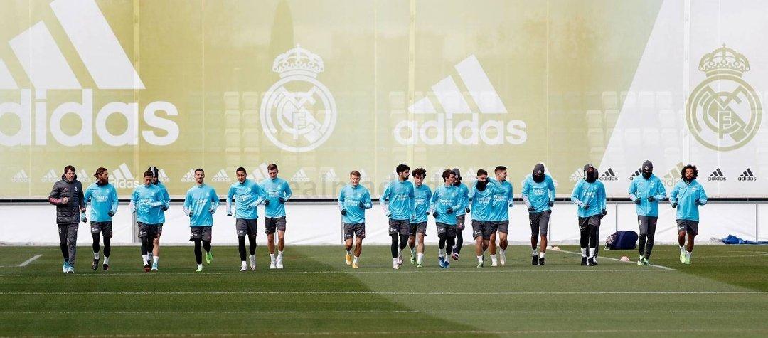El Real Madrid vuelve a los entrenamientos pensando en el Sevilla