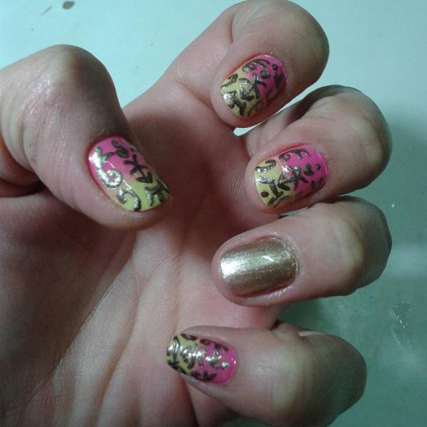 Simple Baroque Nail Designs For 2017 Styles Art