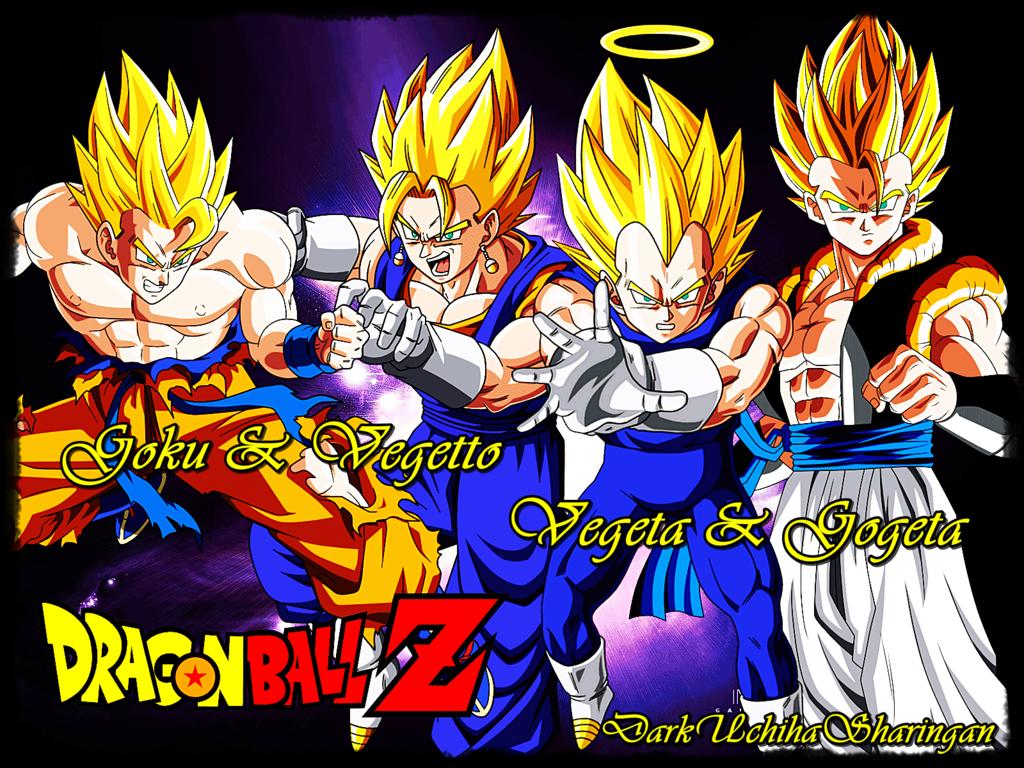 Imagen De Goku Kakaroto Normal Fase 1 Fase Dos Fase 3 Fase: Goku Y Gogeta