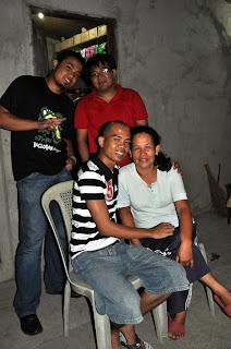 May 7: Christopher Sufrir's Residence (San Quintin, Pangasinan)