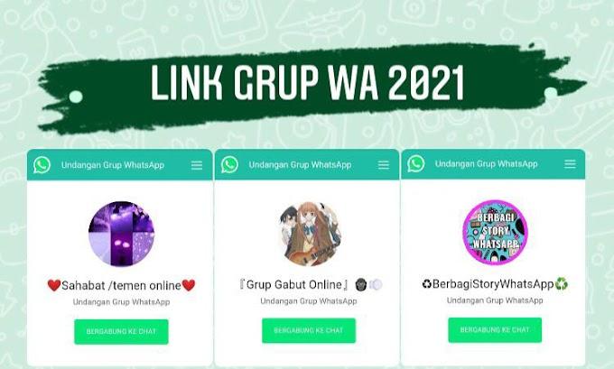 Link Grup Whatsapp 2021