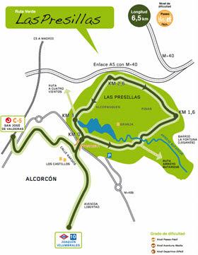 Nueva ruta Verde 'Las Presillas' de Alcorcón desde el Metro o Cercanías