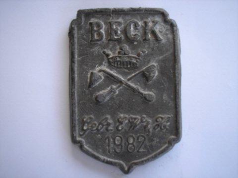 Naam: Gebr. E.W.H. BeckPlaats: AmsterdamJaartal: 1982Boek: Steijn blz 33