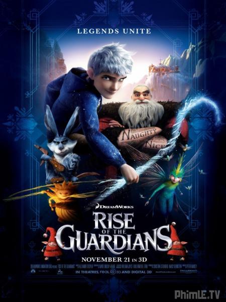 Phim Sự Trỗi Dậy Của Các Vệ Thần - Rise Of The Guardians - VietSub